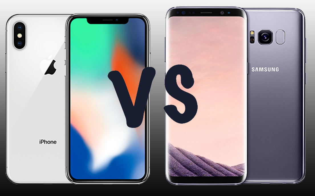 SAMSUNG GALAXY s9+ y IPHONE -X