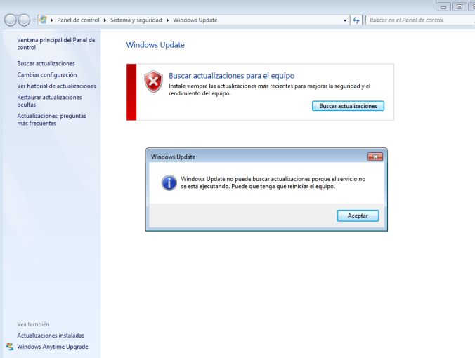 Actualitzacions de Windows - Windows updates