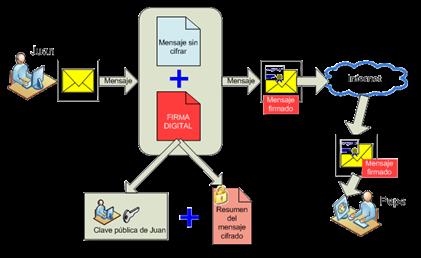 Signar digitalment i enviar un email